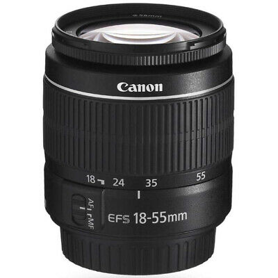 Canon EF-S 18-55mm f/3.5-5.6 III SLR Zoom Lens for EOS 60D, 60Da, 70D & 80D