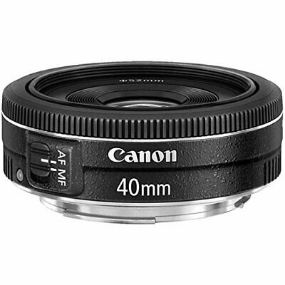 Canon EF 40mm f28 STM Lens  Fixed