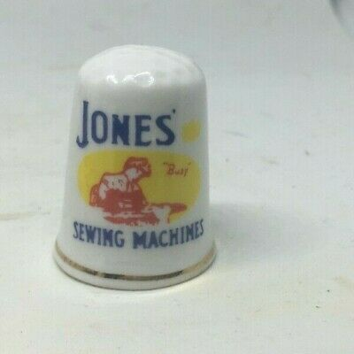 Collectable Thimble - JONES SEWING MACHINES    (AA206)