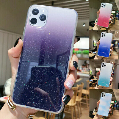 GLITTER Case For iPhone 11 Pro XS Max Xr 8 7 Plus Shockproof Protective Cover