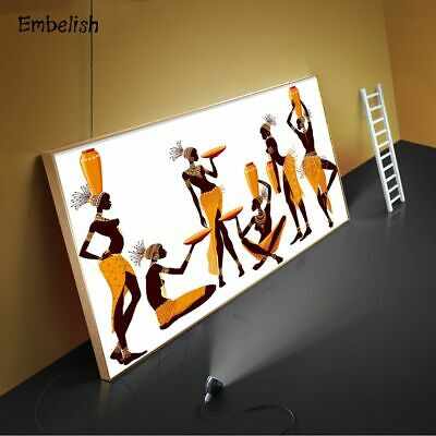 African Women Wall Art Pictures Living Room HD Canvas Paintings Home Decoration