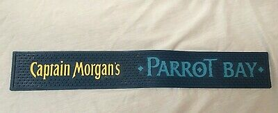 "Captain Morgan's Parrot Bay Rubber Bar Mat 23"" X 3 1/2"""