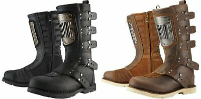 ICON 1000 ELSINORE HP Boots Brown Off road Adventure Retro