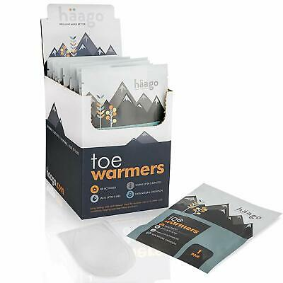 Toe Warmers Heat Warming Pads Insole Warmer Winter Outdoor Raynauds Circulation
