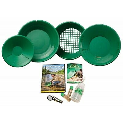 Garrett Deluxe Prospecting Mining Gravity Trap Gold Pan Kit with FREE SHIPPING!