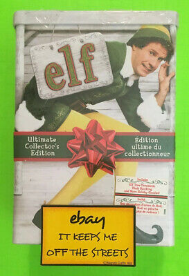 ❤️ELF TIN DVD 3-Disc Set Canadian USA Ultimate Collector's Edition BRAND NEW❤️