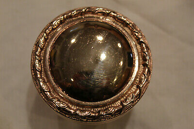 Large & Heavy Victorian Solid Brass (Rose Gold Color) Door Knob