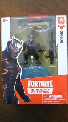 Fortnite Lot of 2 Single Figure Packs  - Omega and Carbide Both MIB Mint In Box