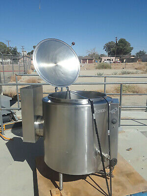 Groen 40 Gallon Kettle Self Contained Natural Gas-Used