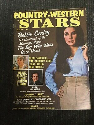 1970 COUNTRY-WESTERN STARS Magazine - Music - Complete Issue