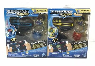 Beyblade Burst Evolution Digital Control Kit Genesis Valtryek V3 Fafnir F3 Lot 2