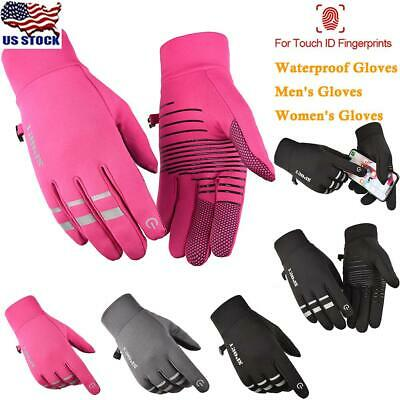 Women Men Winter Warm Full Finger Snow Ski Gloves Thermal Touch Screen Mittens