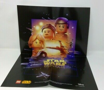 LEGO Star Wars Celebration 2015 Poster Episode IV A New Hope NEW Exclusive
