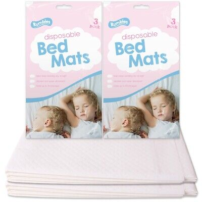 12x DISPOSABLE TODDLER MATTRESS PADS Dry Night Potty Training Protective Mats