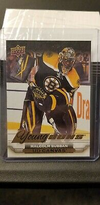 2015-16 Upper Deck Young Guns Canvas Malcolm Subban