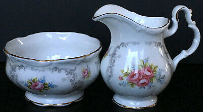 Royal Albert Tranquility Creamer And Sugar Set First Quality England