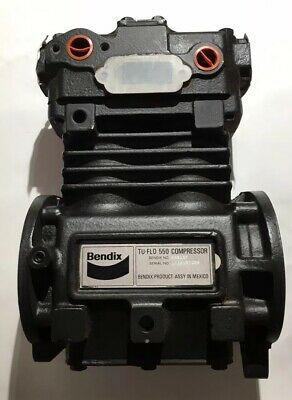 Bendix TU-FLO 550 Air Compressor With Rust 065197 BX065197 065197BXW