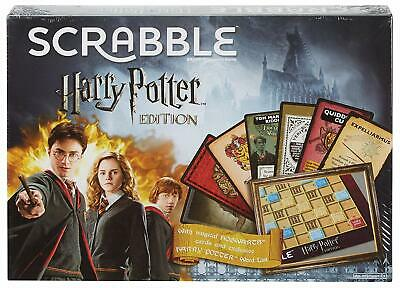 SPECIAL EDITION Mattel Games Scrabble Harry Potter Edition Family Game