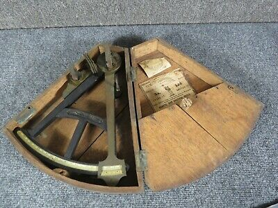 Antique Sextant with box Samuel Thaxter, Boston--1840's