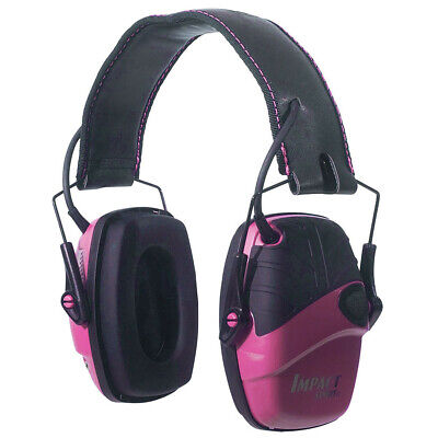Howard Leight Impact Sport Pnk Ear Muff, 24Db Rating, Class 4 Pink Carton X 6 R-