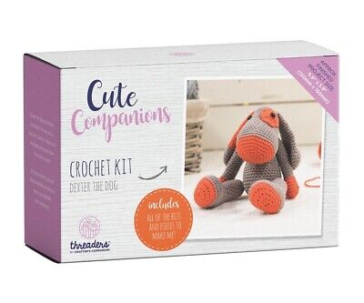 Crafter's Companion Cute Companions - Dexter the Dog Crochet Kit Activity Toy