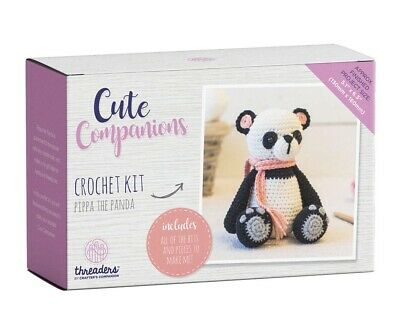Crafter's Companion Cute Companions - Pippa the Panda Crochet Kit Activity Toy