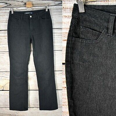 GAP Stretch Flannel Bootcut Pants Woman's 4 Heather Charcoal Older Style Small