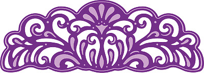 Crafter's Companion Gemini Die - Edge'able - Amethyst Edge Boarder
