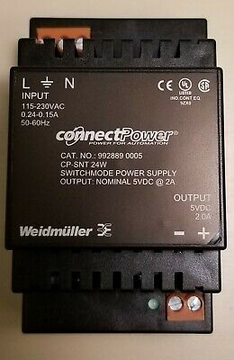 Weidmuller 992889-0015 Power Supply 1.5 Amp 230Vac//15V  NEW