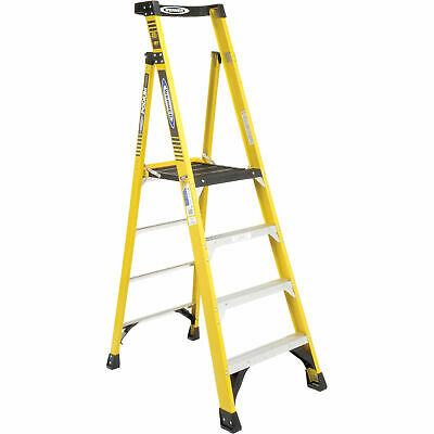 Werner PD7304 4' Type 1AA Fiberglass Podium Ladder