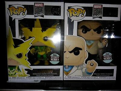 Funko Pop! Marvel 80 Years Specialty Series Kingpin #550 And Electro 545 bundle