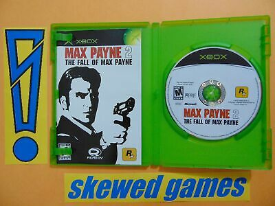 Max Payne 2 The Fall of Max Payne - cib - Mint - XBox Microsoft