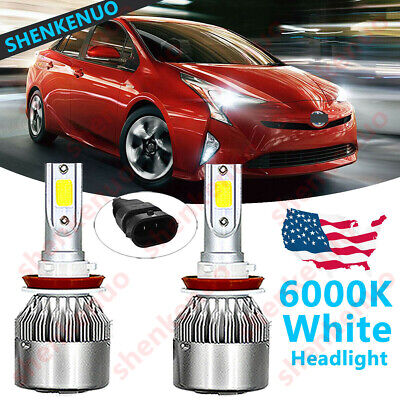 Low-Beam for 2010-15 Toyota Prius Non-HID TSUKI OE H11 Halogen Headlight Bulbs
