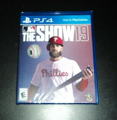 MLB The Show 19 for PlayStation 4 - PS4 - BRAND NEW & FACTORY SEALED!