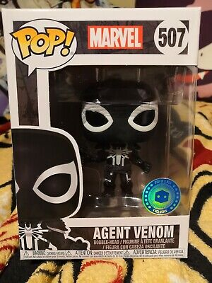 Agent Venom Pop In A Box Exclusive Funko Pop Marvel figure #507 Mint Condition