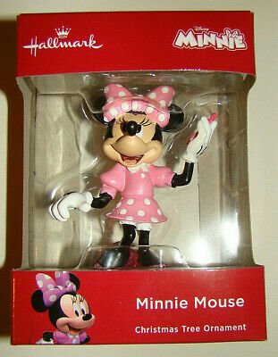2018 HALLMARK ORNAMENT Disney Minnie cell phone NIB