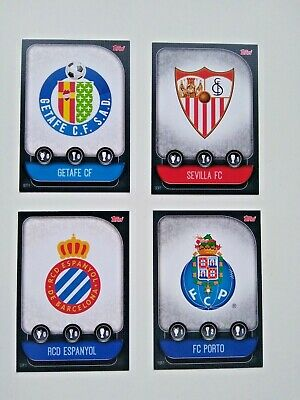 Match Attax Champions League 2020 Topps Complete Set Iberian Edition