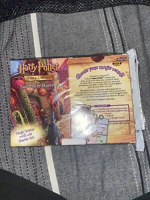 Harry Potter Trading Card Game - Two Player Starter Set 2001 New 2 Packs