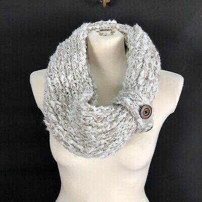 Noelle Honeycomb Knit Infinity Scarf