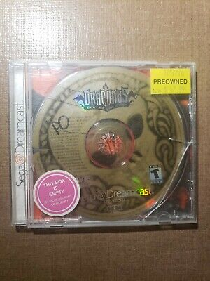 Draconus: Cult of the Wyrm (Sega Dreamcast) Disc Only - Works Great!