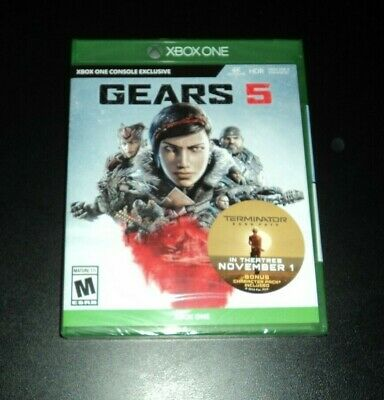 Gears 5 for Xbox One - BRAND NEW & FACTORY SEALED! Gears of War