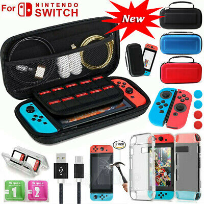 Accessories for Nintendo Switch Carry Case EVA Bag Protector Shell Case Kit