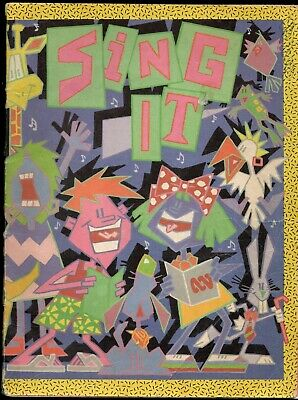 ABC SING IT 80 page 1987 Sheet Music Book 77 GREAT SONGS GC+