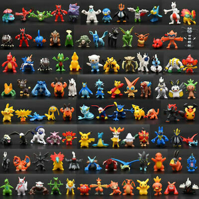 NEW 144ps/set pvc Toy Mini Figures Monster Animation model collection Gift 2-3cm