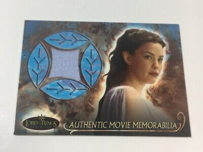 The Lord of The Rings Evolution Arwen's Nightgown Relic Memorabilia Costume Card