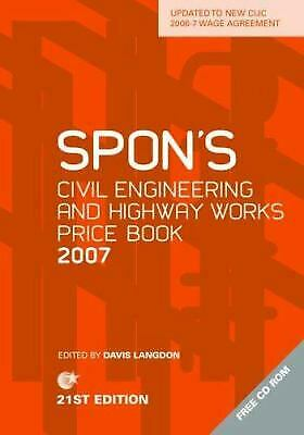 Spon's Civil Engineering and Highway Works Price Book 2007 by Longdon
