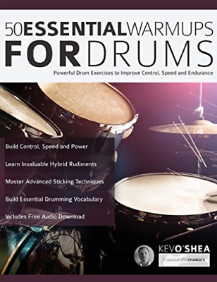 O Shea Kev-50 Essential Warm-Ups For Drum (US IMPORT) BOOK NEW