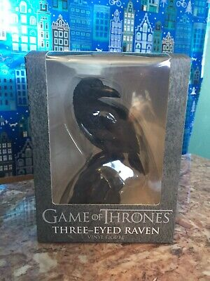 Game Of Thrones CultureFly Three-Eyed Raven Vinyl Figure Stark HBO Action Figure