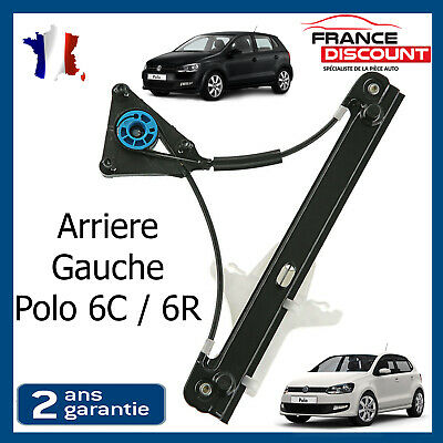 Mechanism Front Right Window Lift Passenger LHD VW Polo 6R since 2009 6R3837462