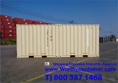20' DC DUOCON (2x10') - 20' One Trip Shipping Container in Montreal, QC, Canada